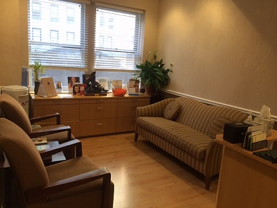 NYC Dental Office Waiting Area