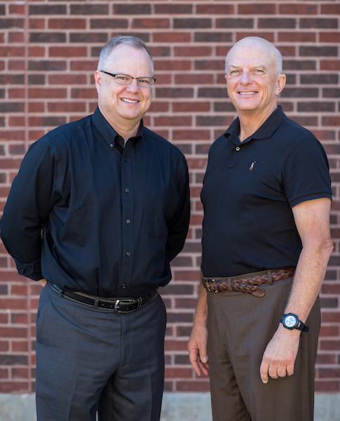 Dr. Robert Hanger and Dr. W. David Jenkins