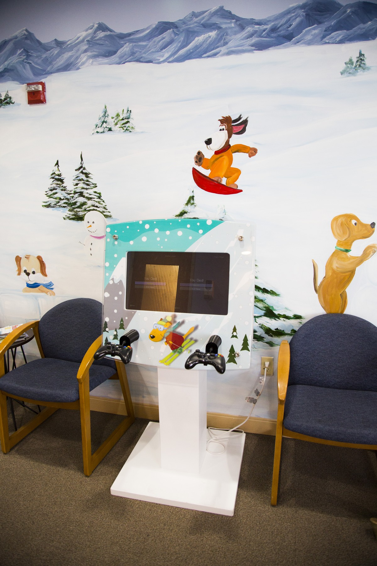 Hudson Valley Pediatric Dentistry Wait Room