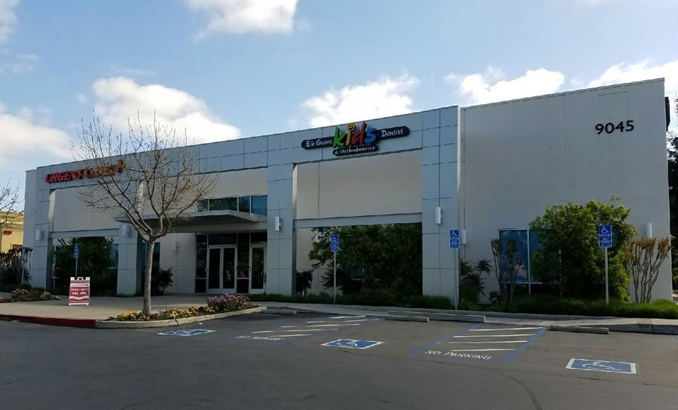Elk Grove Kid's Dentist & Orthodontics Exterior Building