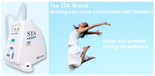 STA wand for dental anesthetic edmonton and allard alberta