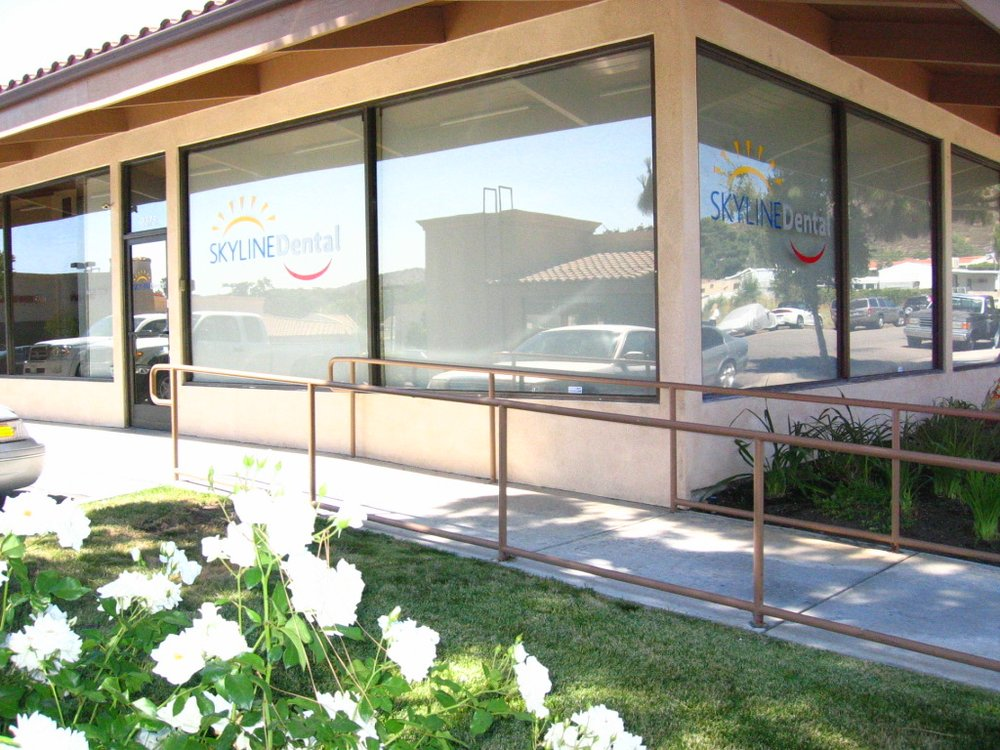 Exterior View of Dental Office and Windows