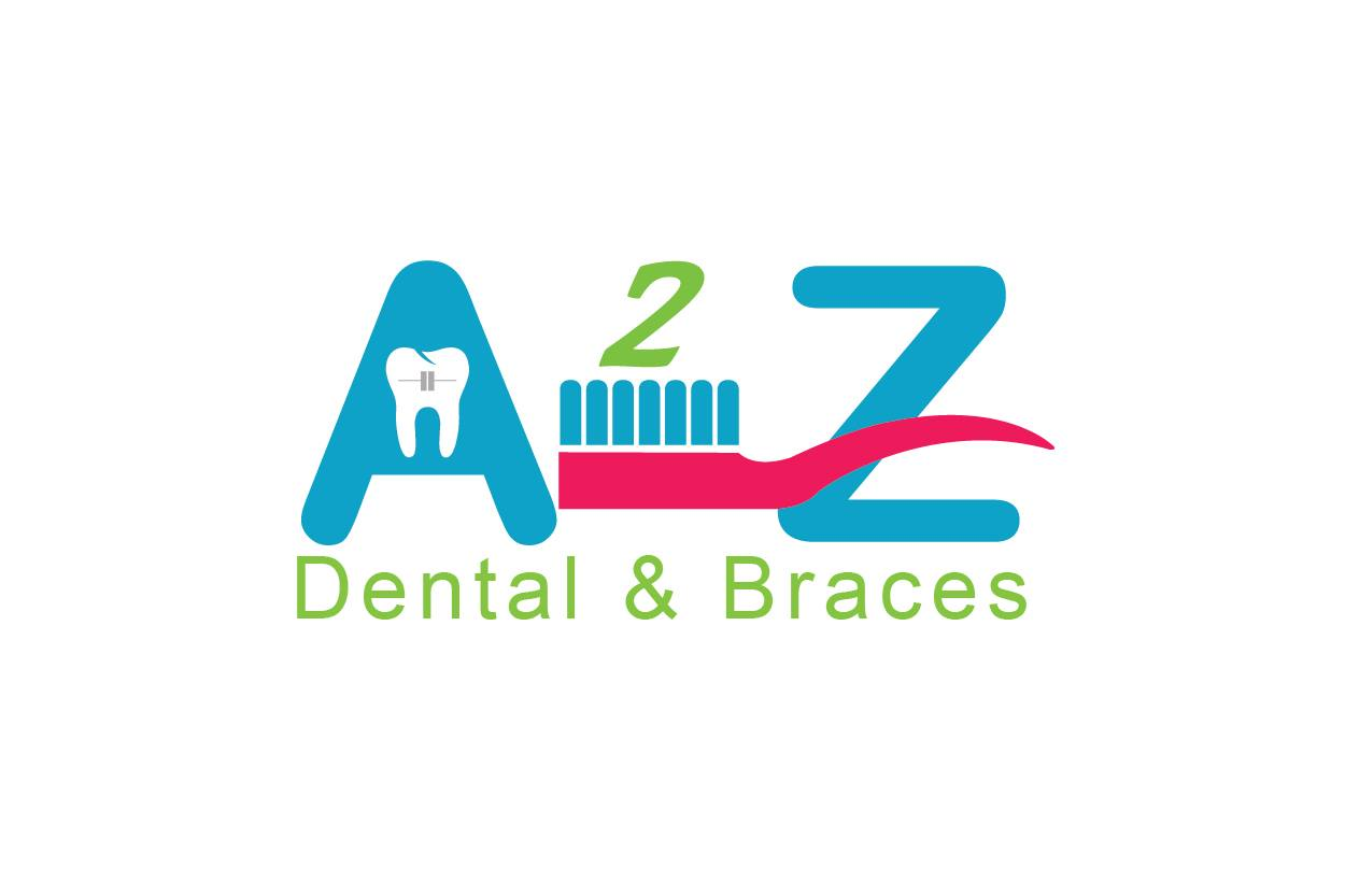 A2Z Dental & Braces Logo