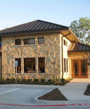 Building exterior of Clear Fork Healthy Dental Care