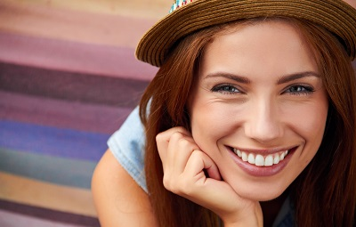 Image of smiling young woman