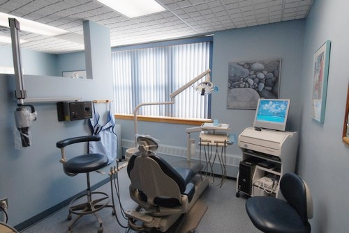 Our Peekskill, New York Patient Exam Room at Alfred S. Bassin DMD's Dental Office