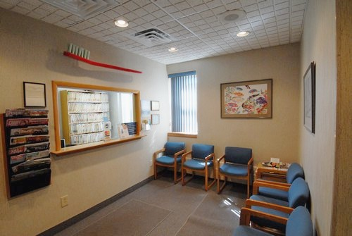 The Reception Area at Alfred S Bassin DMD in Peekskill New York