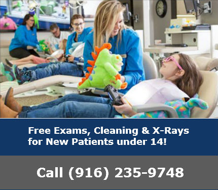 Free exams for new patients under 14