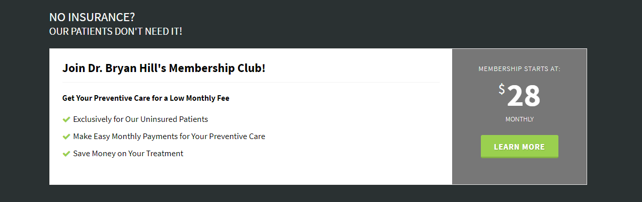 Dental Memberships