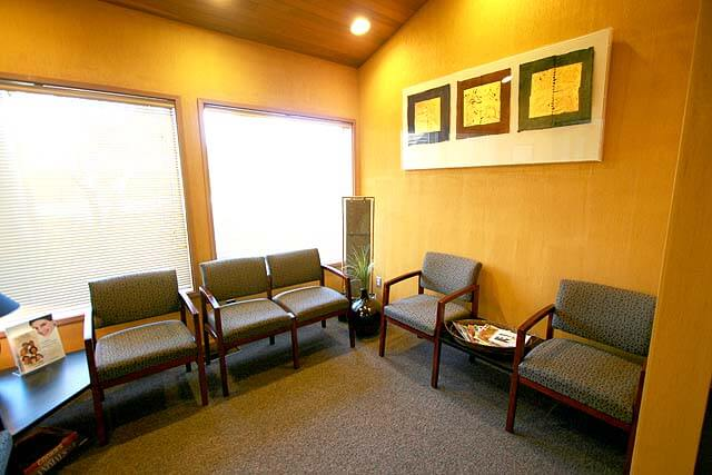Our relaxing waiting area at our Auburn Dental Office