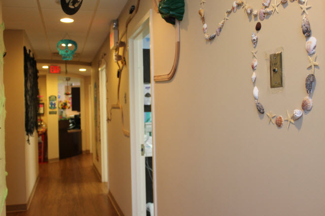 Picture of hallway at Pediatric Dentistry of Garden City
