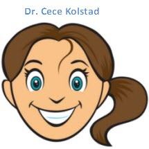 Dr. Cece Kolstad cartoon