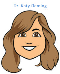 Dr. Katy Fleming cartoon
