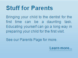 Stuff for parents button