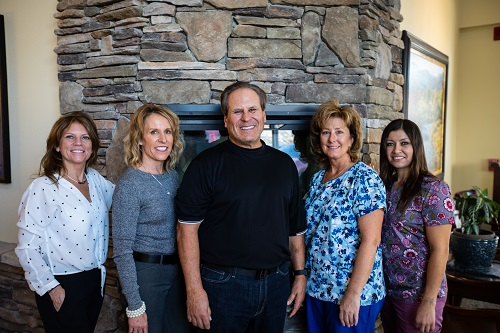 Joseph Mazzola, DDS and his team at Mazzolla Dentistry