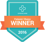 Dr. Tom Clark Receives Patients' Choice 2016 Badge