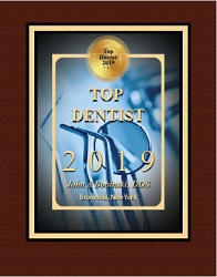 Dr. John Bobinski is a top dentist in 2019. Visit our Yonkers, New York office today!