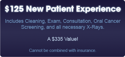 $125 New Patient Experience