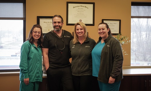 shelby township dentist and team