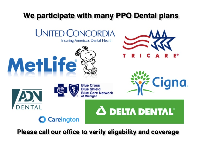 shelby township dentist accepting ppo dental insurance