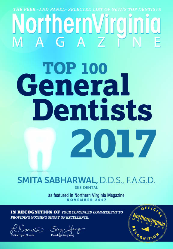SKS Dental, top 100 general dentists in Northern Virginia