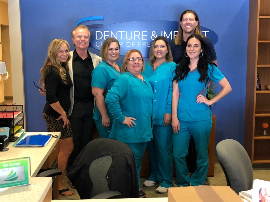 Denture and Implant Center of Fresno Team