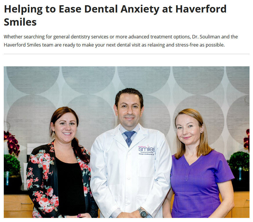Dr. George Souliman and Team of Haverford Smiles