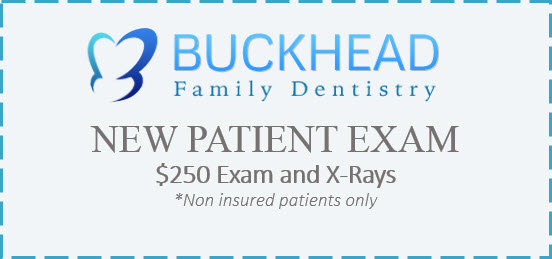 Visit Buckhead Family Dentistry in Atlanta Georgia for new patient specials.