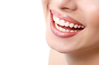 close up of smile with healthy gums