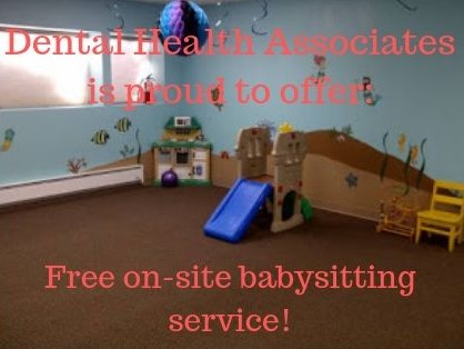 Dentist with free childcare
