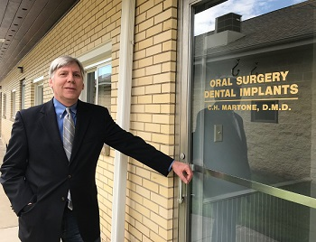 Image of Dr. Christopher H. Martone, DMD outside of the practice