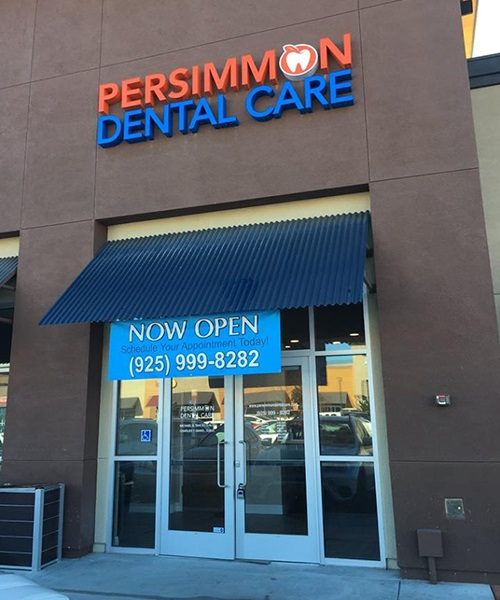 Persimmon Dental Care front door