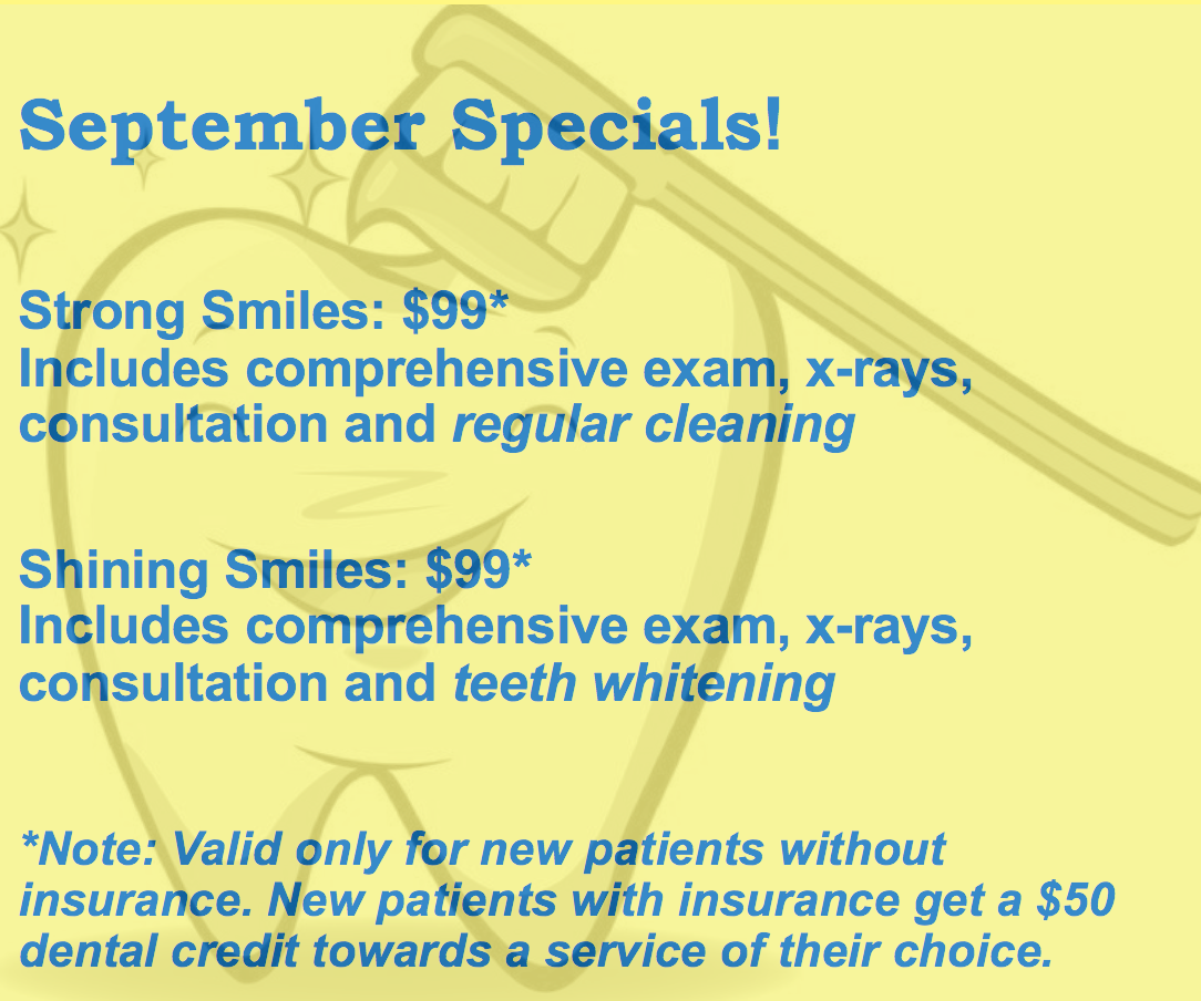 dental checkup and cleaning special in pasadena