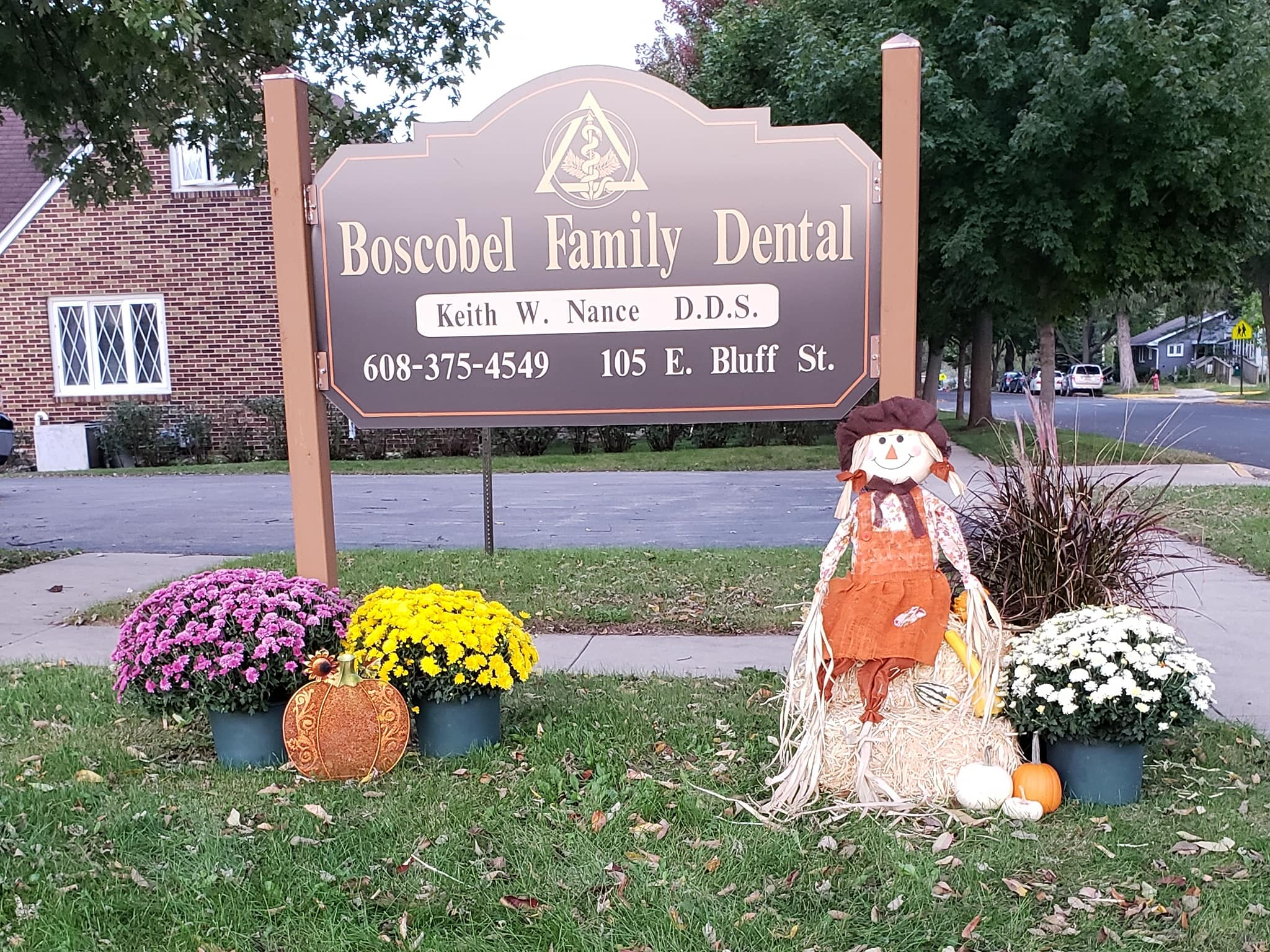 Boscobel Family Dental sign