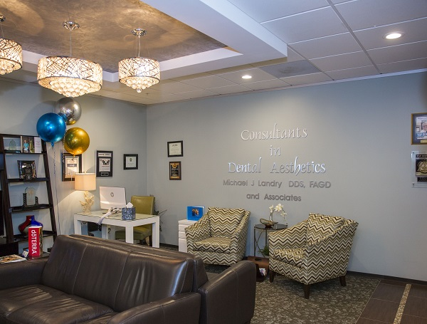 Front office of   Houston Sleep Apnea Michael J. Landry, DDS, ABAD
