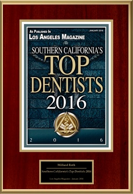 Top dentist 2016 award - Dr. Millard Roth