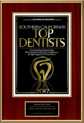 Top dentist 2017 award - Dr. Millard Roth
