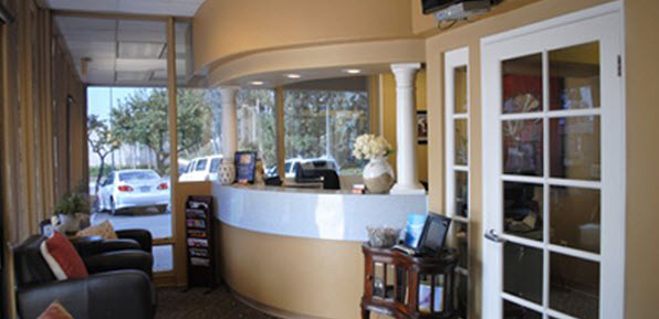 Laguna Hills Dental patient waiting area