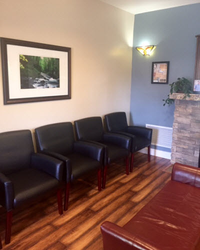 patient waiting area at High Country Family Dentistry
