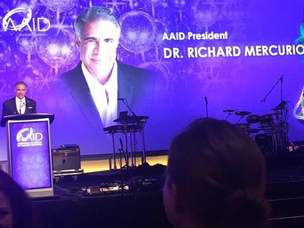 richard mercurio dds aaid lecture red bank new jersey oral surgeon