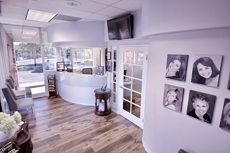 Laguna Hills Dental reception desk